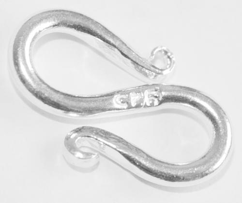15 Mm S Haken Verschluss Aus 925 Silber