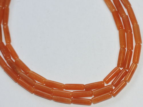 D3-05 - 13x4 MM ORANGE AVENTURIN WALZEN STRANG