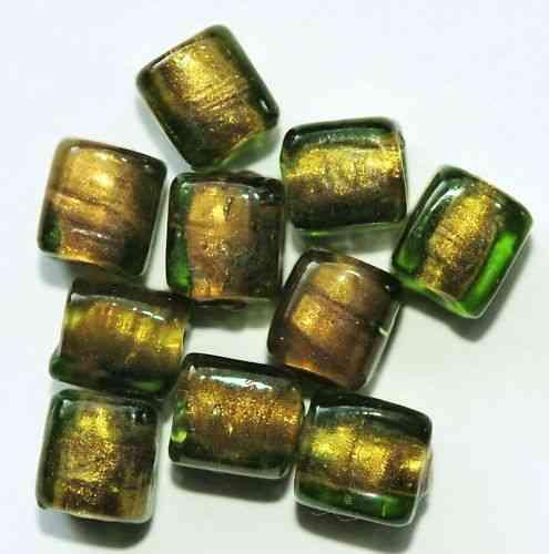 9 GLASPERLEN WÜRFEL 9 MM AC3-04