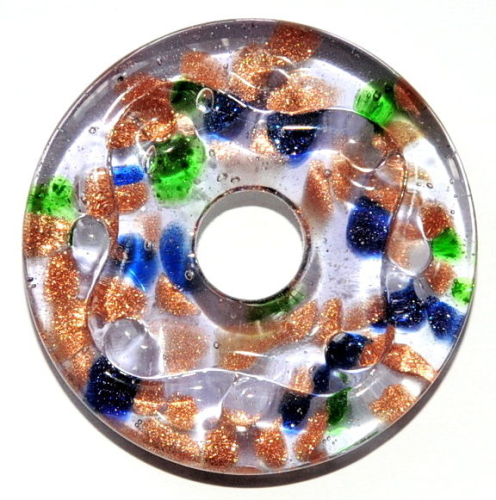 42 MM GLASPERLEN DONUT